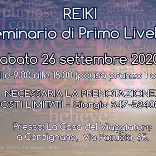 REIKI – Seminario di Primo livello