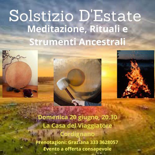 SOLSTIZIO D'ESTATE – Meditazione, Rituali e Strumenti Ancestrali